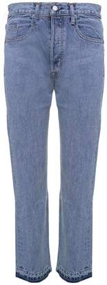 Helmut Lang (ヘルムート ラング) - Helmut Lang New Crop Straight Cotton-denim Jeans