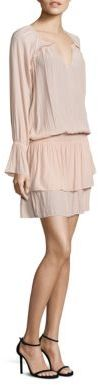 Ramy Brook Olivia Blouson Tiered Dress $395 thestylecure.com