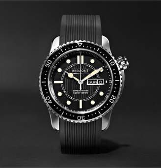 Bremont S500 Supermarine Automatic 43mm Stainless Steel And Rubber Watch