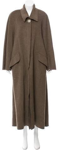 Fendi Long Knit Coat