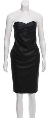 Robert Rodriguez Metallic Mini Dress