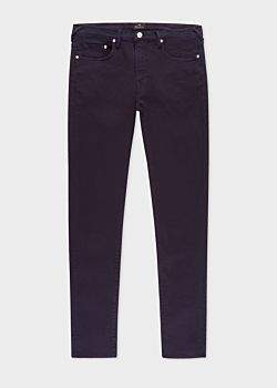 Paul Smith Men's Slim-Fit Dark Navy Garment-Dye Jeans
