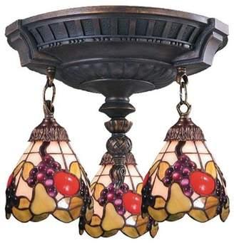Elk Lighting 997-AW-19 Mix-N-Match Traditional Semi Flush Mount Ceiling Light