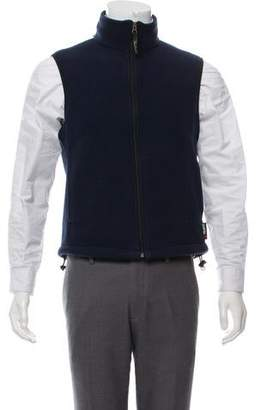 Woolrich Fleece Zip-Up Vest