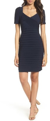 Women's Adrianna Papell Pleat Sheath Dress $160 thestylecure.com