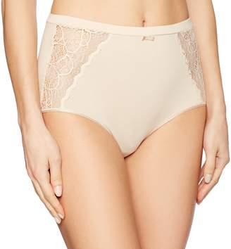 Bali Women's Cotton Desire W/Lace Brief