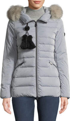 Peuterey Turmalet Puffer Jacket w/ Detachable Fur