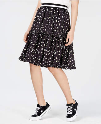 Macy's Nicopanda Tiered Floral-Print Skirt, Created for