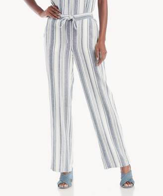 Sole Society Drawstring Beach Stripe Linen Pant