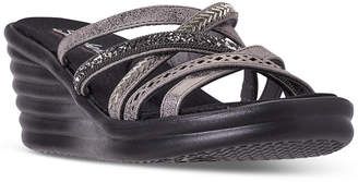 Skechers Women Rumblers - Silky Smooth Sandals from Finish Line