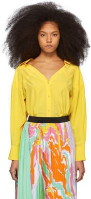Emilio Pucci Yellow Silk Shirt