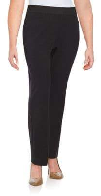 Rafaella Plus Plus Curvy Slim-Leg Dress Pants