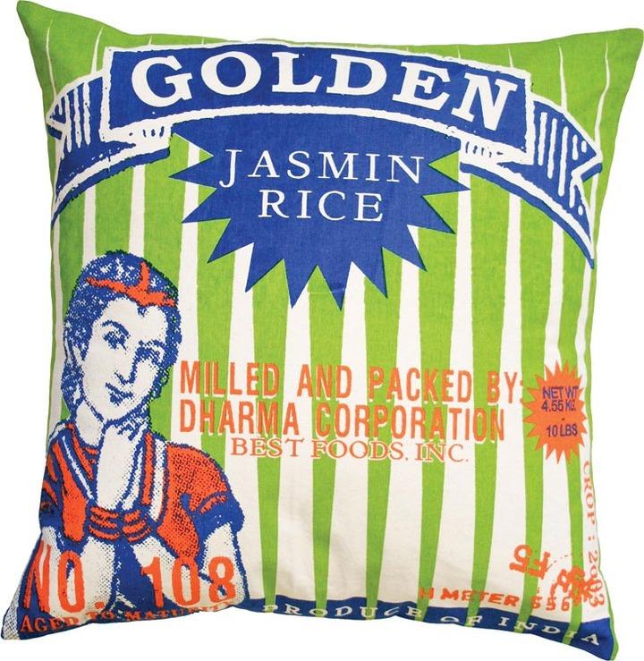 Koko - Golden Rice Pillow