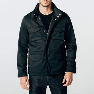 DSTLD Mens Military Jacket in Black