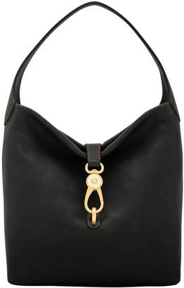 Dooney & Bourke Florentine Small Logo Lock Shoulder Bag
