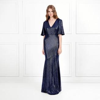 Rachel Zoe Heather Fluid Sequin Gown