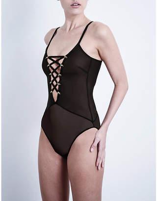 MeDusa Coco De Mer mesh bodysuit