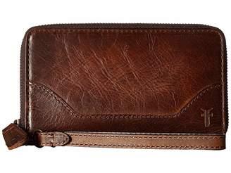 Frye Melissa Zip Phone Wallet Wallet Handbags
