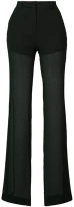 Vionnet semi-sheer trousers