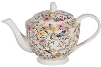 Maxwell & Williams Summer Blossom Bone China Small Teapot - 16.9oz