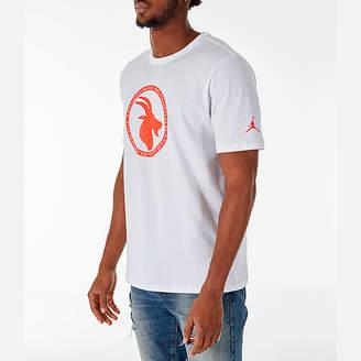 Nike Men's Jordan Sportswear GOAT Logo T-Shirt