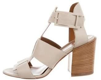 Aquatalia Leather Multistrap Sandals w/ Tags