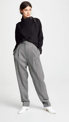 Tibi Sculpted Pleat Pants
