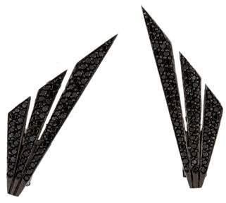 Jack Vartanian 18K Diamond Wing Earrings