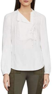 4fc56f2ad73450 Bcbg Max Azria Silk Top - ShopStyle