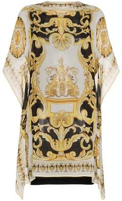 Versace silk kaftan dress
