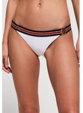Superdry Crest Logo Fixed Tri Bikini Bottom