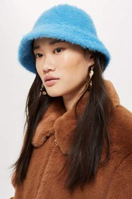 Topshop Fluffy Bucket Hat