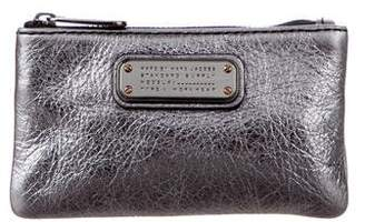 Marc by Marc Jacobs Metallic Leather Key Pouch