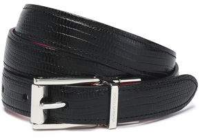 Dolce & Gabbana Lizard-Effect Leather Belt