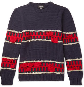 Calvin Klein Wool And Mohair-Blend Sweater
