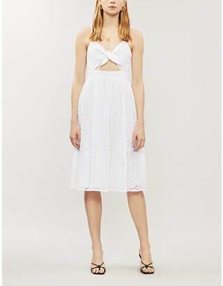 MICHAEL Michael Kors Broderie anglaise cotton dress