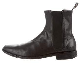 Christian Dior Leather Chelsea Boots