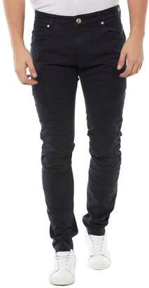 Pierre Balmain Skinny Biker Clean Jeans