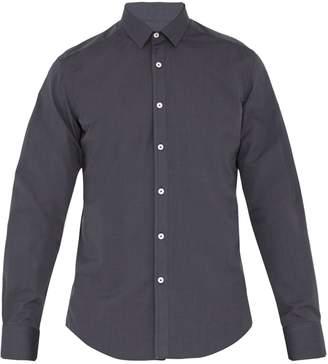 Lanvin Single-cuff cotton-blend shirt