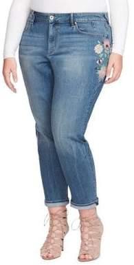 Jessica Simpson Plus Mika Embroidered Jeans