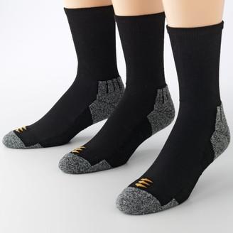 PowerSox By Goldtoe Men's by GOLDTOE 3-pack Power-Lites Crew Socks