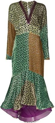 Silvia Tcherassi Dagma polka-dot midi dress