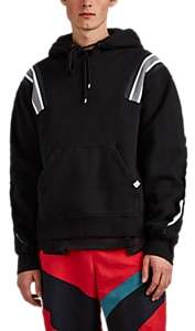 Facetasm Men's Cotton Fleece Hoodie - Black