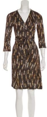 Diane von Furstenberg Knee-Length Julian Dress