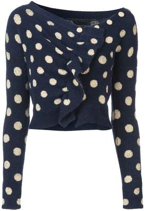 Rachel Comey Embrace spotted cropped sweater
