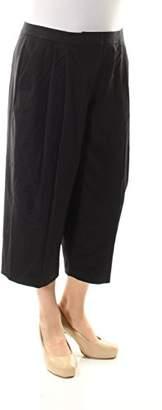 Nine West Women's Solid Culotte Pant