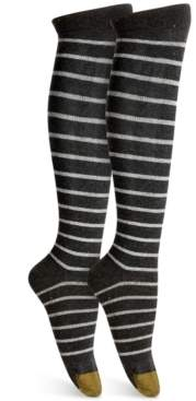 Gold Toe Women's Nep Striped Compression Socks