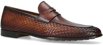Magnanni Woven Penny Loafers