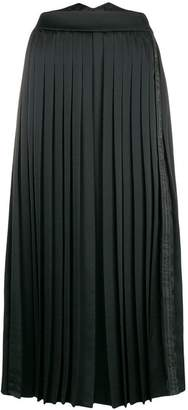 Off-White pleated wide leg trousers