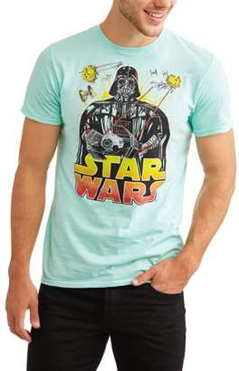 Star Wars Movies & TV Men's Darth Vader Threat Graphic T-shirt